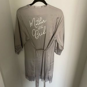 Mother of the Bride- Satin Robe
